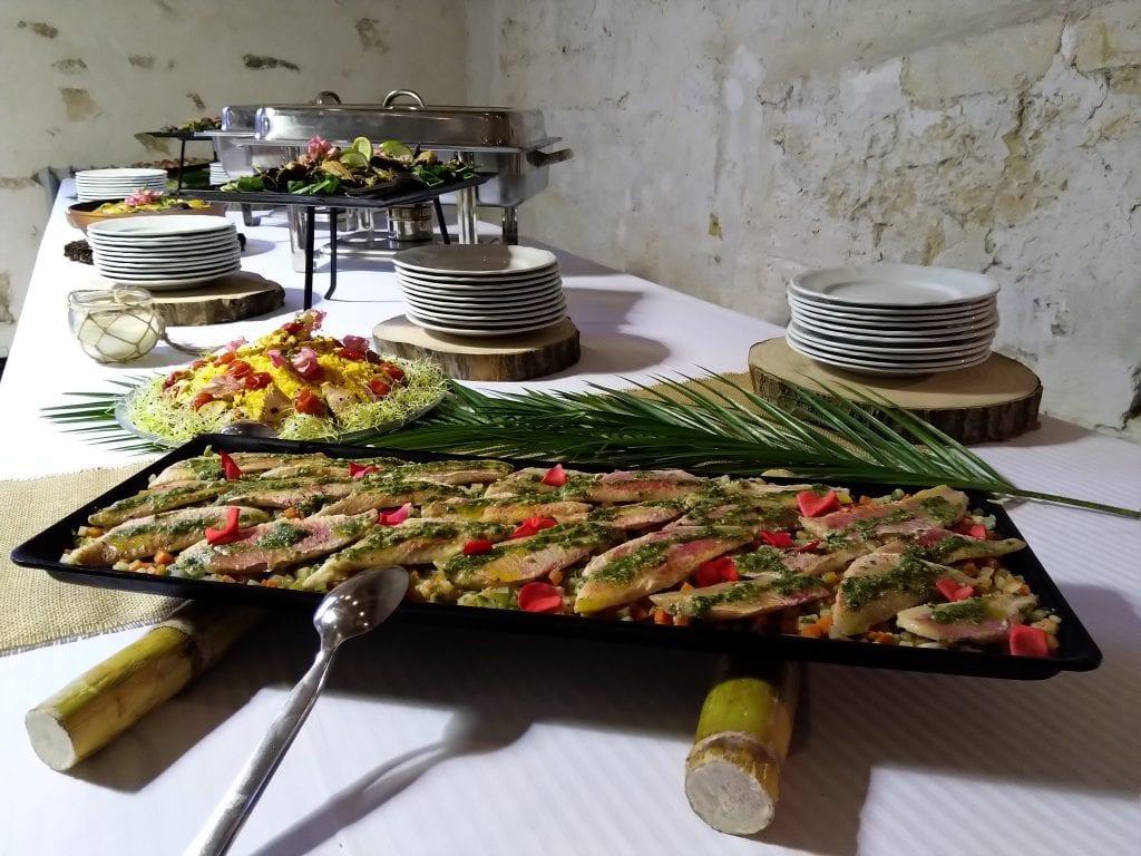 Filet de rouget pour buffet réceptions traiteur à SQY