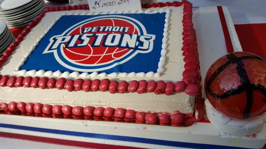 Personnalisation du gâteau