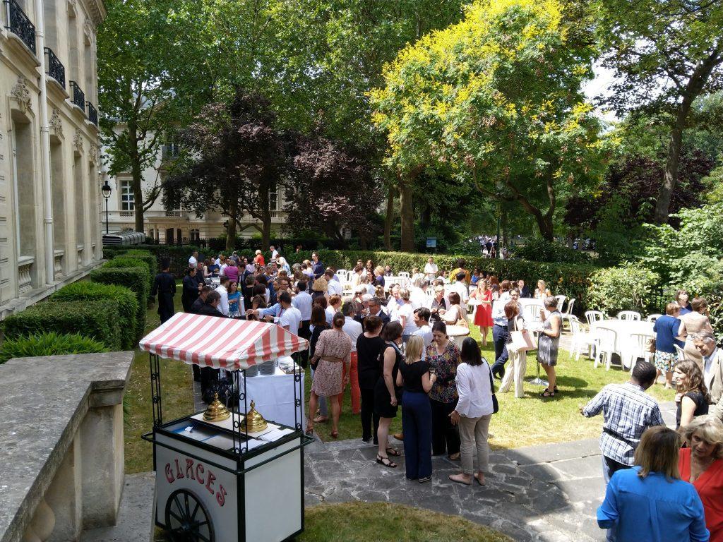 Garden party par le traiteur Richard Blanc Guyancourt