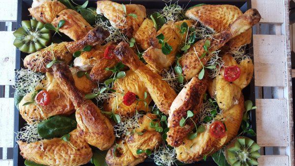 Plateau de poulet rôti froid du traiteur Goodee SQY à Voisins le Bretonneux