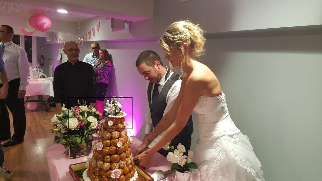 Buffet des desserts mariage