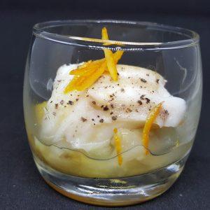 Verrine salée à réchauffer pour cocktail