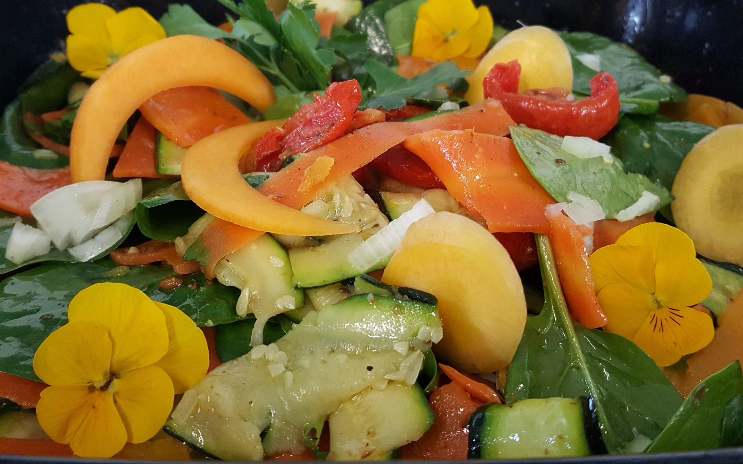 Salade méli-mélo de légumes d'automne 200G
