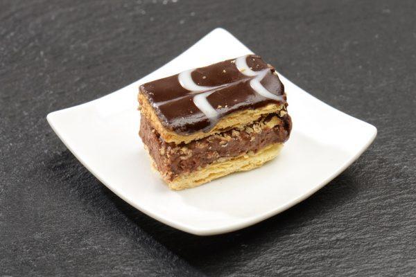 Mini millefeuilles chocolat