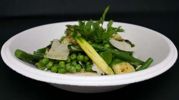 Assiette biodégradable formule repas