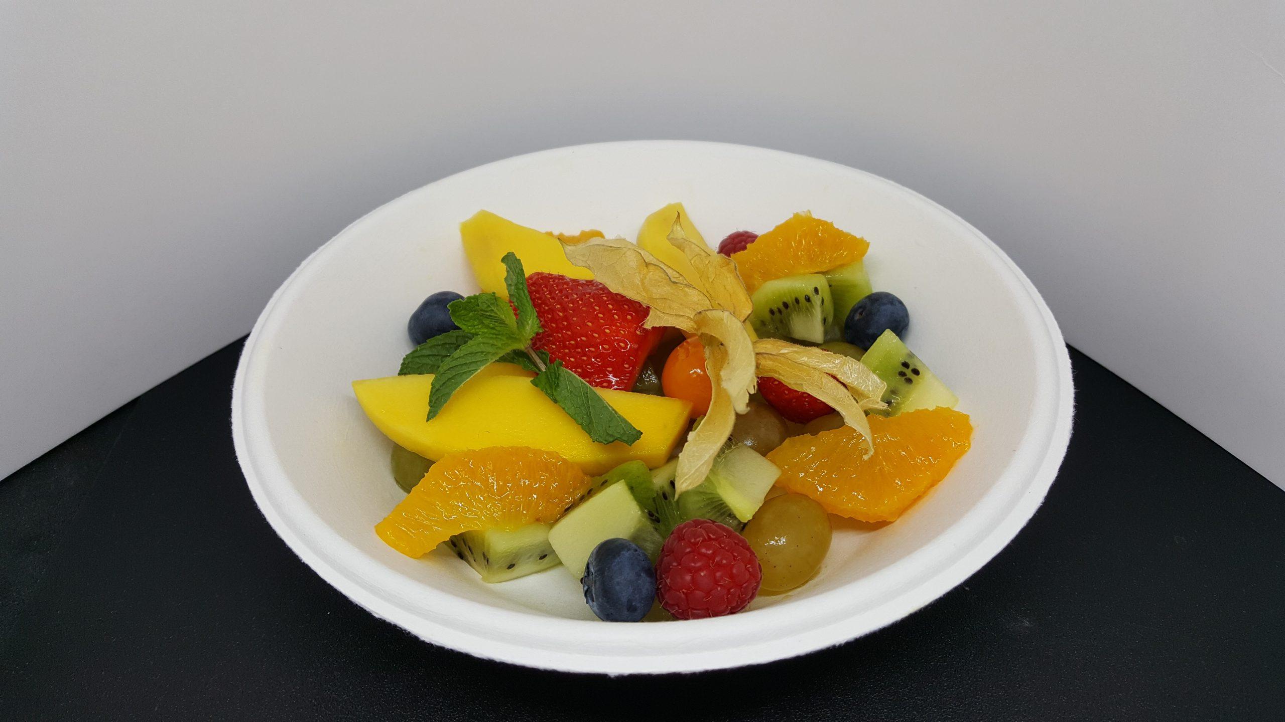 Assiette formule de salade de fruits frais 300g