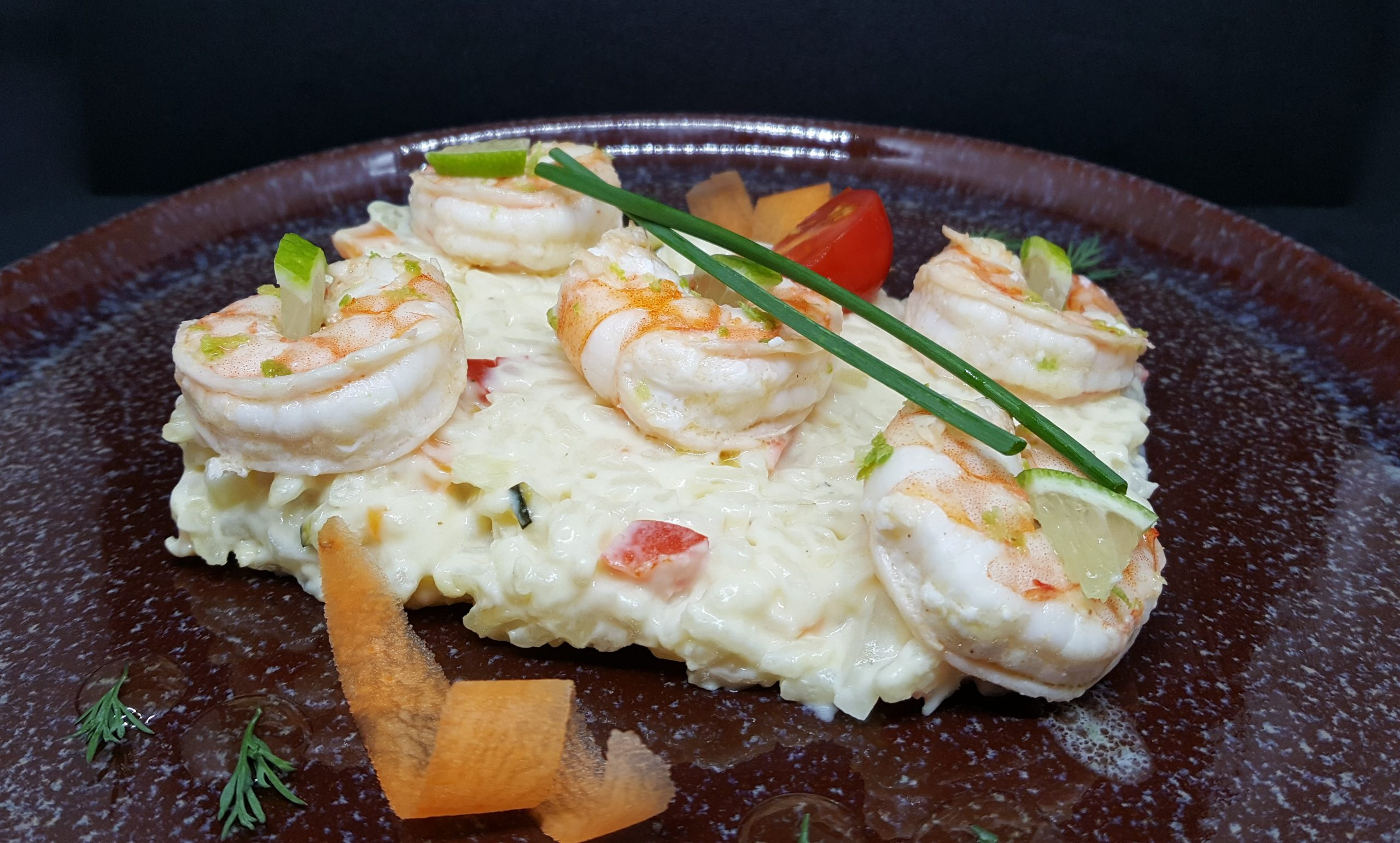 Risotto aux gambas 350g