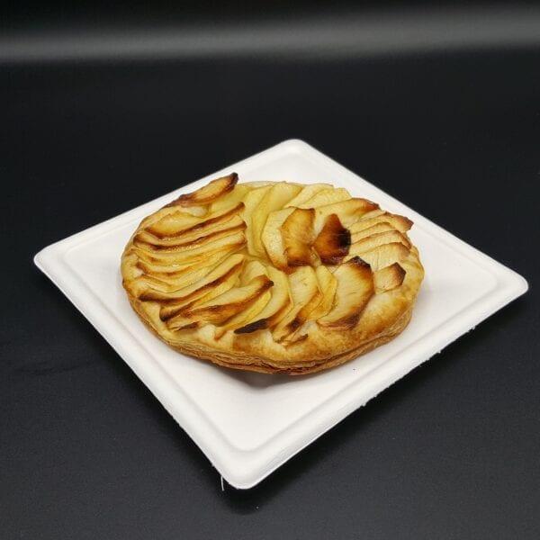 Tartelette fine feuilletée aux pommes fraîches